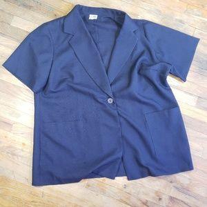 Lane Bryant blazer pocket button size 24W